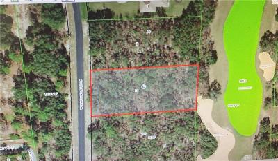 Lecanto Residential Lots & Land For Sale: 3791 W Shadow Creek Loop