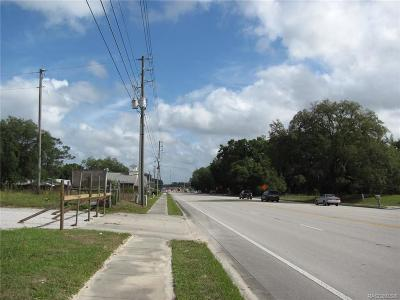 Lecanto Residential Lots & Land For Sale: 1110 S Lecanto Highway