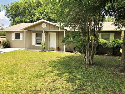 Crystal River Single Family Home For Sale: 915 NE 2nd Street