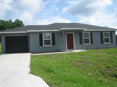 Single Family Home For Sale: 1255 W Buttonbush Drive