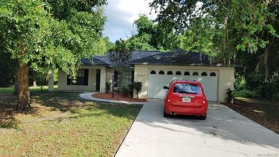Inverness Single Family Home For Sale: 9400 Smoketree Place