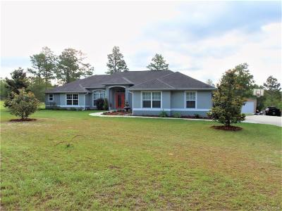 Dunnellon Single Family Home For Sale: 5173 SW Carnation Court