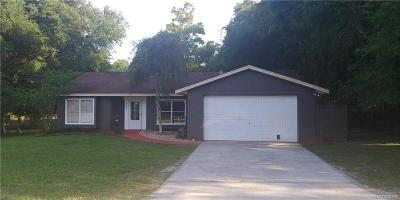Inverness Single Family Home For Sale: 6490 E Wingate Street