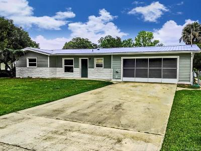 Crystal River Single Family Home For Sale: 1731 NW 20th Avenue