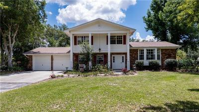 Homosassa, Dunnellon Single Family Home For Sale: 4920 W Grover Cleveland Boulevard