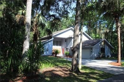 Homosassa Single Family Home For Auction: 4010 S Blue River Cove