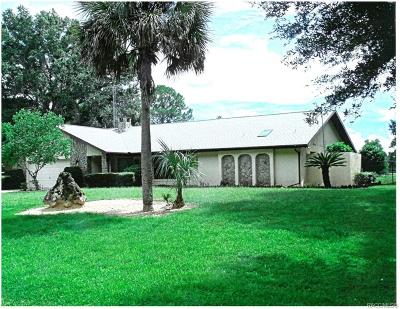 Crystal River Single Family Home For Sale