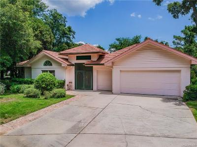 Lecanto Single Family Home For Sale: 2924 W Crooked Stick Court