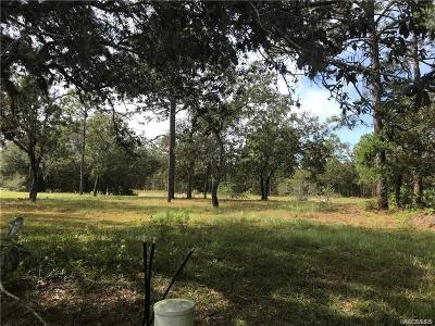 Homosassa Residential Lots & Land For Sale: 4 Barkwood Point