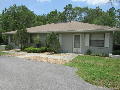 Homosassa Single Family Home For Sale: 90 Athenia Court