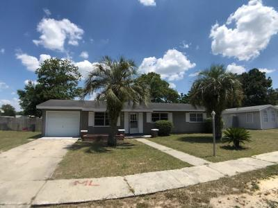Citrus Springs Single Family Home For Sale: 2090 W Greenway Place