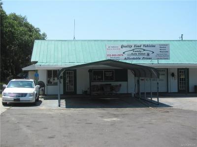 Hernando Commercial For Sale: 7781 N Carl G Rose Highway