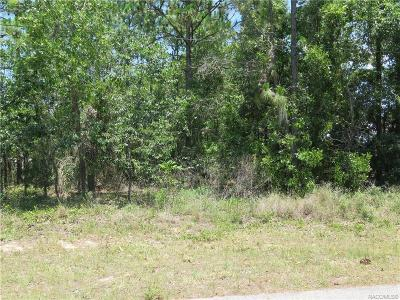 Hernando Residential Lots & Land For Sale: 1575 E McKinley Street