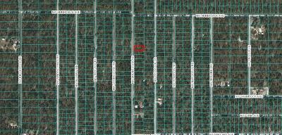 Dunnellon Residential Lots & Land For Sale: 00 NW Buena Vista Road