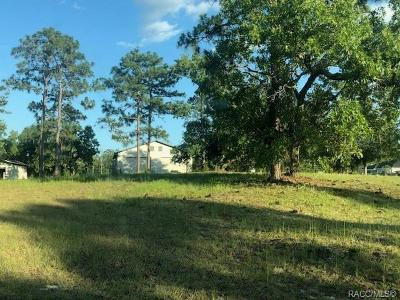 Lecanto Residential Lots & Land For Sale: 5191 W Homosassa Trail