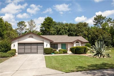 Homosassa Single Family Home For Sale: 13 Begonias Court