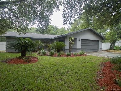 Homosassa Single Family Home For Sale: 4207 S Winding Oaks Drive