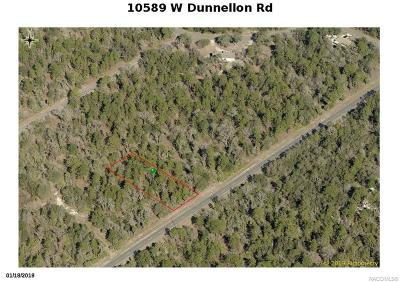 Crystal River Residential Lots & Land For Sale: 10589 W Dunnellon Road