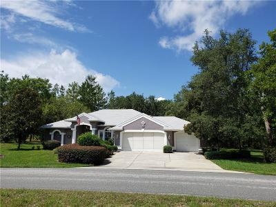 Homosassa Single Family Home For Sale: 16 Judi Court