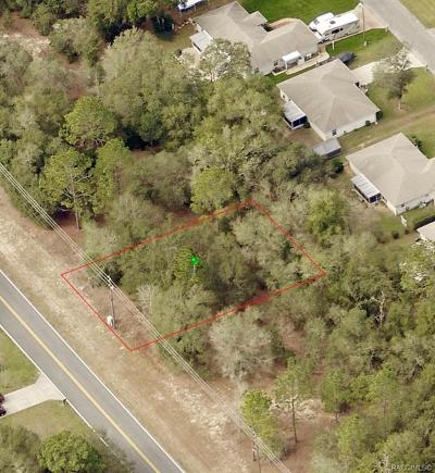 Citrus Springs Residential Lots & Land For Sale: 785 W Country Club Boulevard