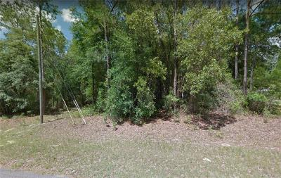 Citrus Springs Residential Lots & Land For Sale: 2041 W Arbutus Drive