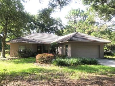 Lecanto Single Family Home For Sale: 2945 W Plantation Pines Court