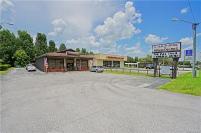 Inverness Commercial For Sale: 2416 W Highway 44