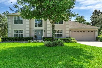 Homosassa Single Family Home For Sale: 14 Black Willow Court