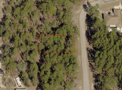 Citrus Springs Residential Lots & Land For Sale: 1929 W Wavecrest Drive