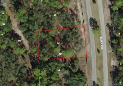 Homosassa Residential Lots & Land For Sale: 111 Cypress Boulevard
