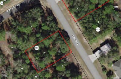 Citrus Springs Residential Lots & Land For Sale: 7460 N Ireland Drive