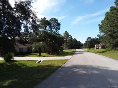 Homosassa Residential Lots & Land For Sale: 3 Woodlee Court