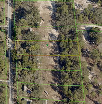 Homosassa Residential Lots & Land For Sale: 4909 S Grand Circle Terrace