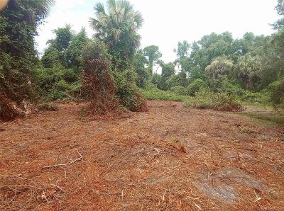 Crystal River Residential Lots & Land For Sale: 9786 N Misty Janell Terrace
