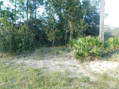 Homosassa Residential Lots & Land For Sale: 38 Cypress Boulevard