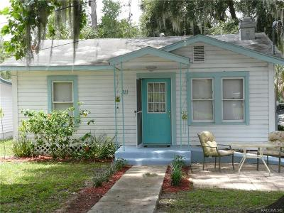 Citrus County Single Family Home For Sale: 311 N Citrus Avenue