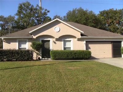 Citrus Springs Single Family Home For Sale: 8464 N Vince Drive