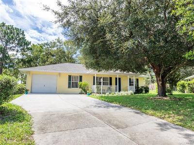 Citrus County Single Family Home For Sale: 996 W Colbert Court