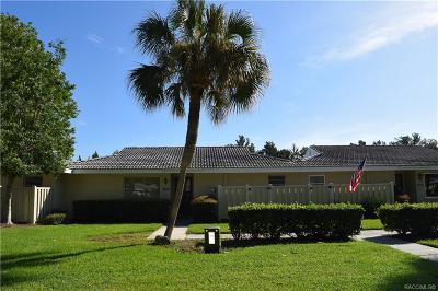 Citrus County Condo/Townhouse For Sale: 11346 W Bayshore Drive