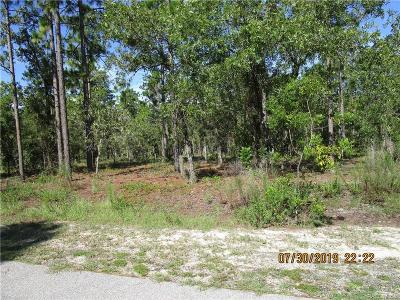 Levy County Residential Lots & Land For Sale: 00 S 135th Court