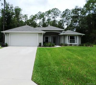 Citrus Springs Single Family Home For Sale: 10366 N Holcomb Drive