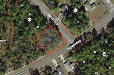 Citrus County Residential Lots & Land For Sale: 8230 N Krouse Way