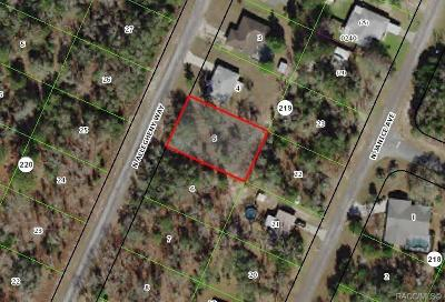 Citrus County Residential Lots & Land For Sale: 10225 N Allegheny Way