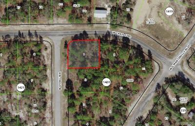Citrus County Residential Lots & Land For Sale: 10429 N Vicki Terrace