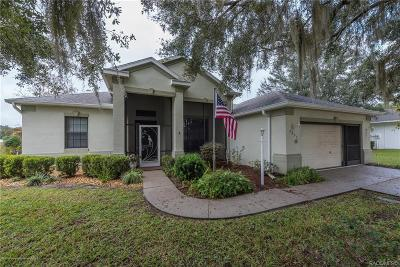 Hernando Single Family Home For Sale: 3037 N Folkestone Loop