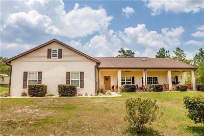 Levy County Single Family Home For Sale: 7271 SE 131st Avenue