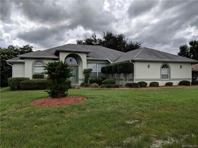 Hernando FL Single Family Home For Sale: $219,900