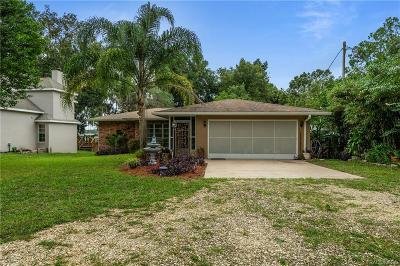 Dunnellon Single Family Home For Sale: 5715 W Riverbend Road