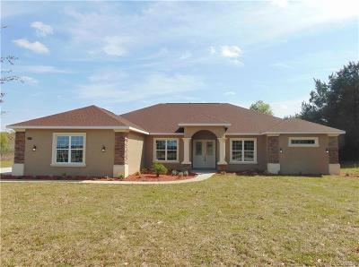 Hernando Single Family Home For Sale: 2087 N Annapolis Avenue