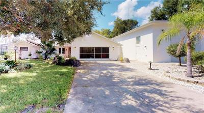 Crystal River Single Family Home For Sale: 514 N Venturi Avenue